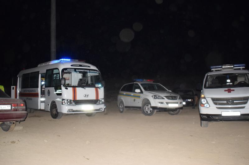 В Кызылординской области перевернулся автобус сообщением Шымкент – Новосибирск, 1 человек погиб