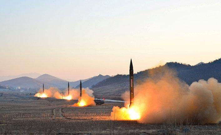 Американские аналитики рассекретили 13 ракетных баз в КНДР