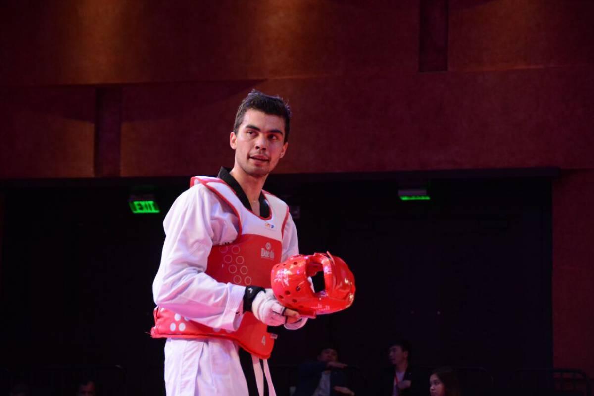 Смайыл Дуйсебай вышел в полуфинал Гран-при по таеквондо в ОАО