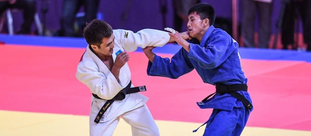В Астане проходит отборочный чемпионат Казахстана по дзюдо