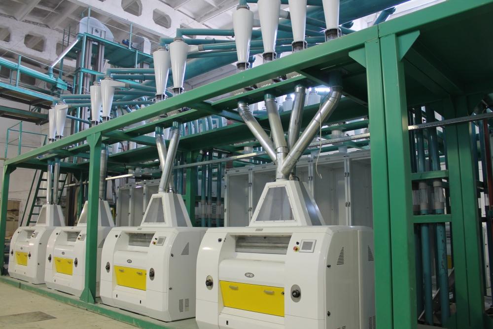 Комплекс по переработке зерна до 600 тонн в сутки запустили в Костанае