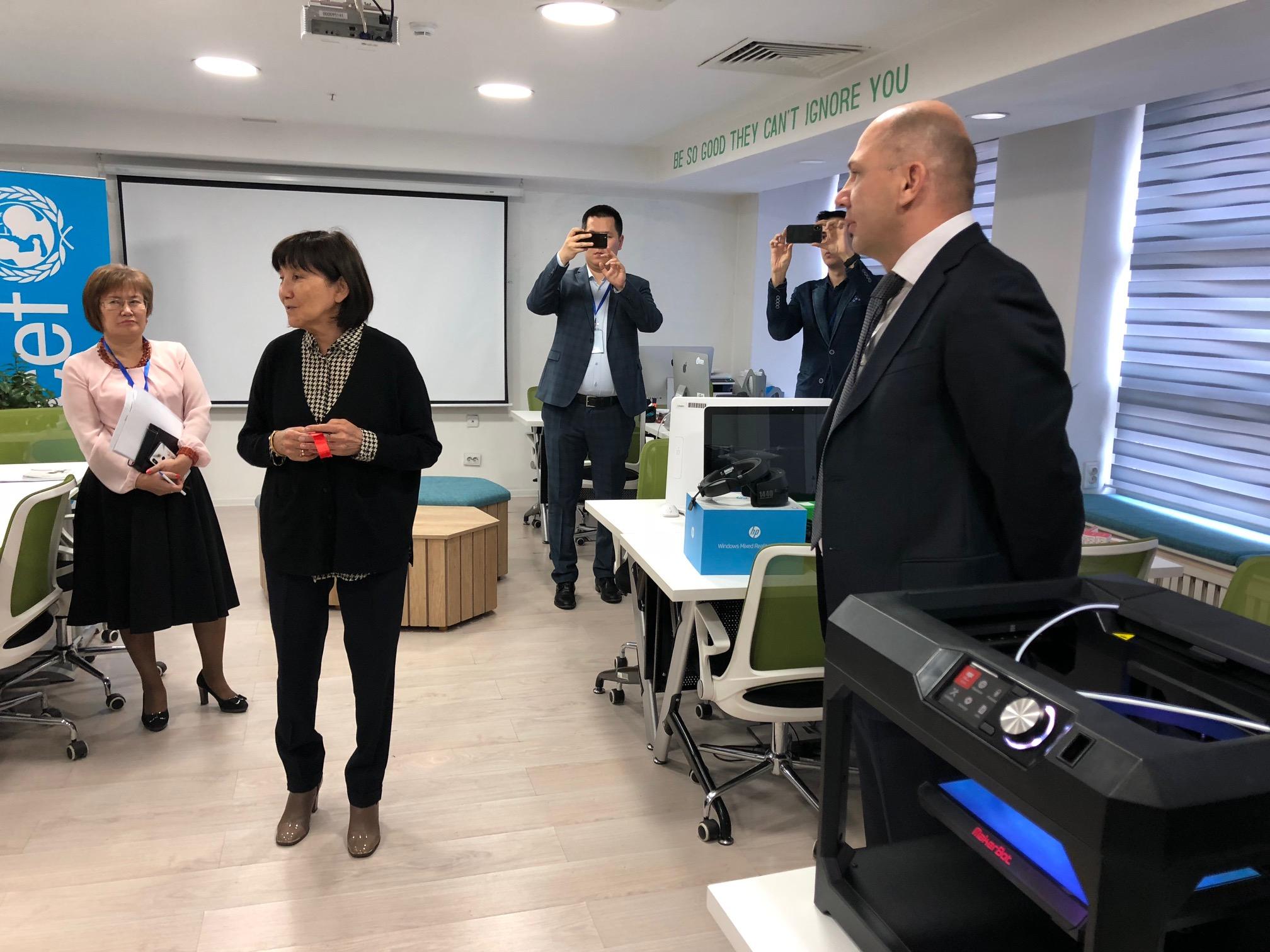 В МУИТ открылась инновационная лаборатория