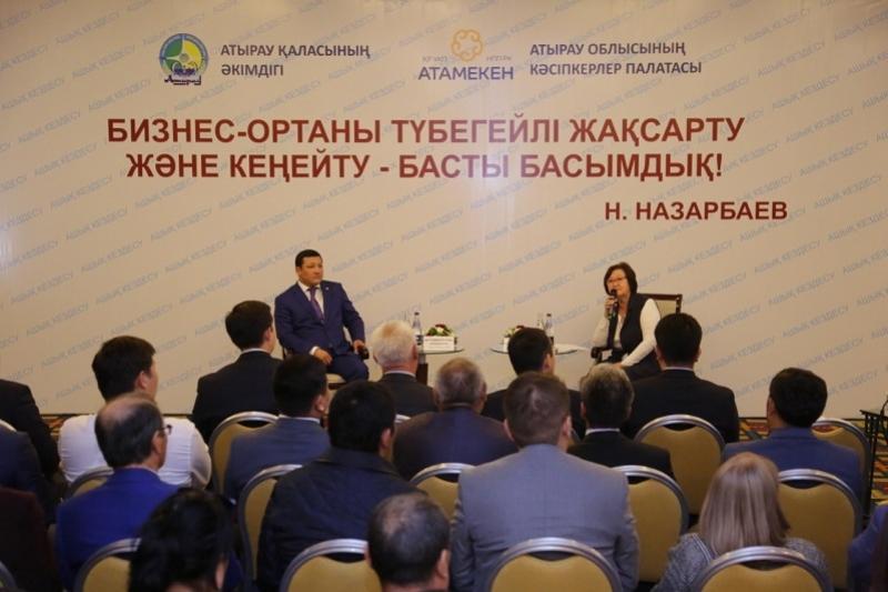 Аким Атырау обратился к предпринимателям с просьбой внести вклад в развитие города, Атырау, Алимухаммед Куттумуратулы