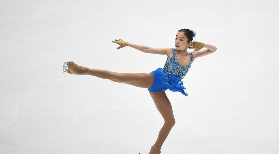 Турсынбаева стала пятой на втором этапе Гран-при