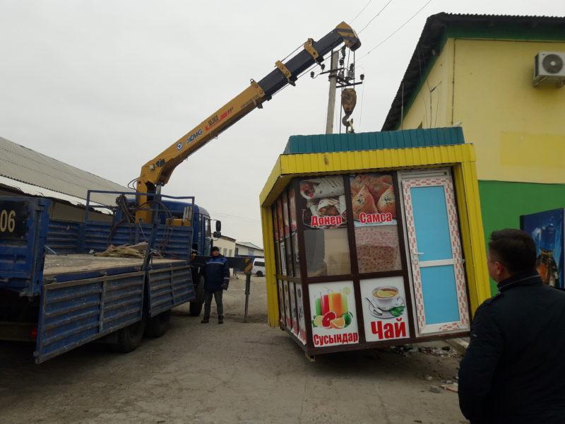 Полсотни незаконных торговых киосков снесут в Атырау