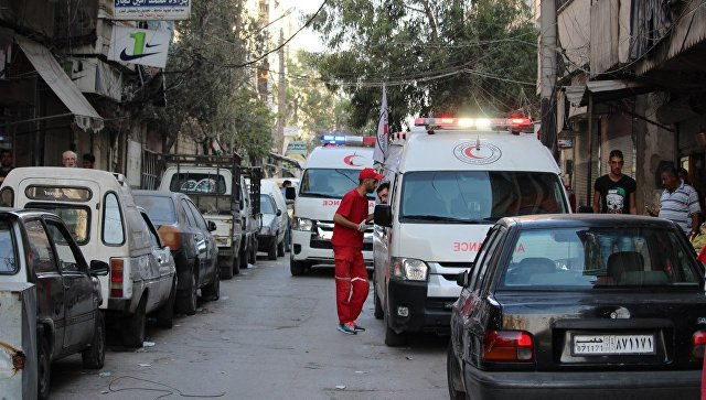 В Идлибской зоне деэскалации в Сирии произошел взрыв
