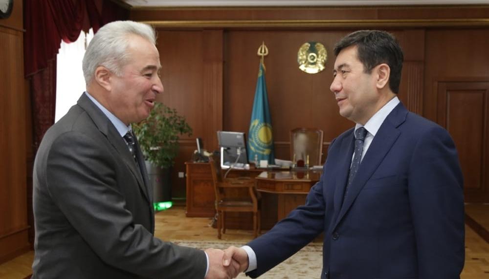 Украинский посол предложил бизнес-проекты для реализации в Карагандинской области