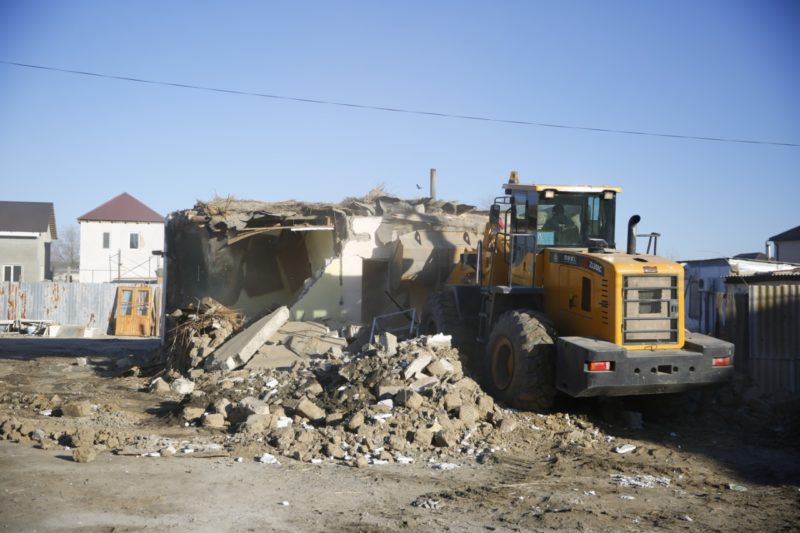 В Атырау снесут свыше 250 домов в старой части города