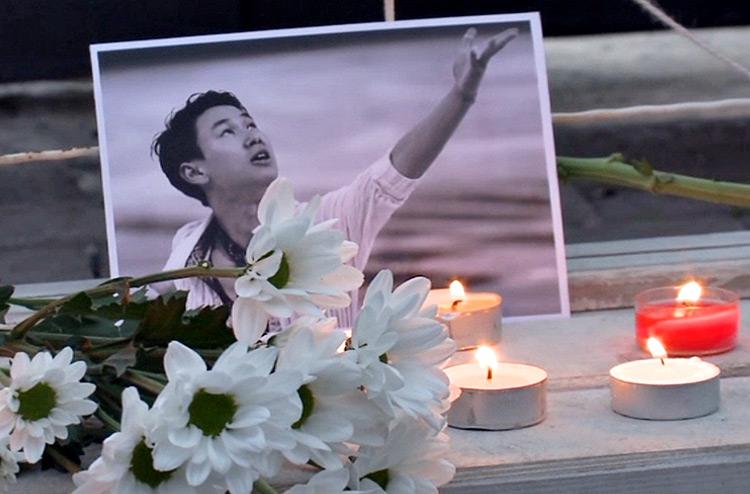 Жанар Толыбаева после убийства Дениса Тена уехала отдыхать