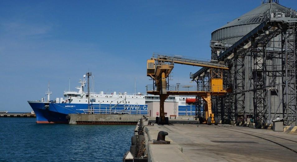 Терминал в порту Актау в два раза увеличил перевалку зерновых в январе-сентябре  , Ак-Бидай, Зерновой терминал, Актау , Продкорпорация, Перевалка зерна, Экспорт зерновых