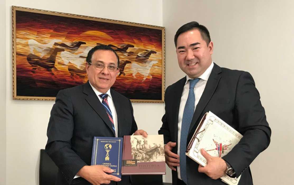 Казахстан и Перу будут развивать сотрудничество в космической сфере, Казахстан, Перу, «НК «Қазақстан ғарыш сапары»,Космическое агентство Перу