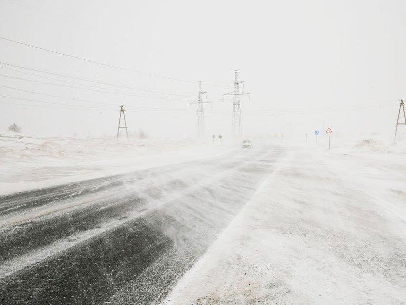 В Павлодарской области закрыты междугородние трассы