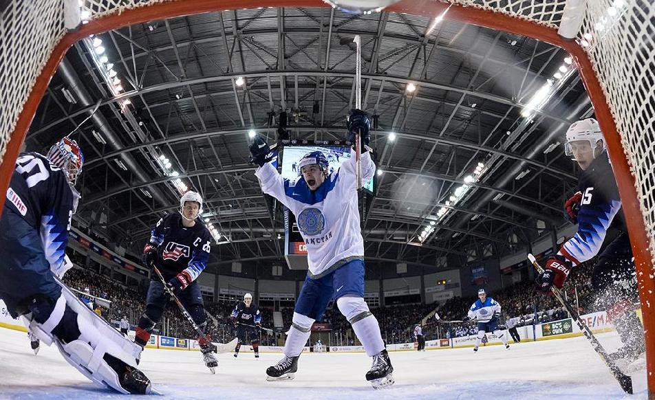 МЧМ-2019: Казахстану придется выживать в элите , Молодежный чемпиона мира 2019, Хоккей, Сборная Казахстана, Казахстан-Словакия, МЧМ-2019