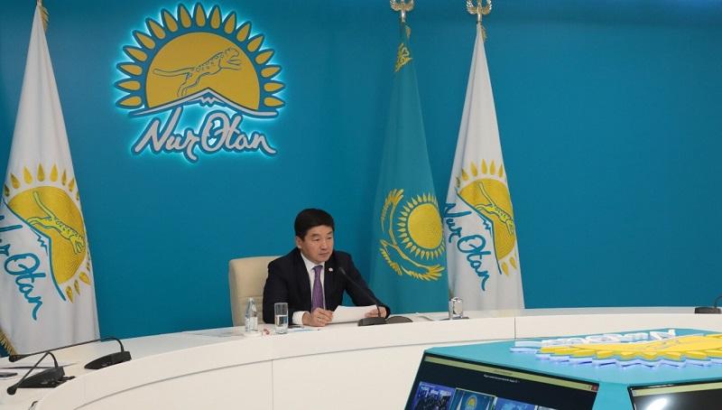 Бауыржан Байбек принял участие в международном межпартийном форуме ШОС+