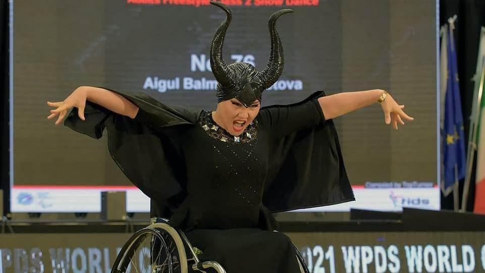 Дважды бронзовым призером Кубка мира по паратанцам стала карагандинка