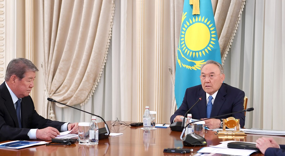 Заседание совета по управлению ФНБ «Самрук-Казына»