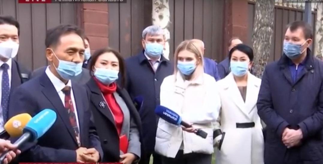 Председатель агентства по противодействию коррупции посетил Алматинскую область