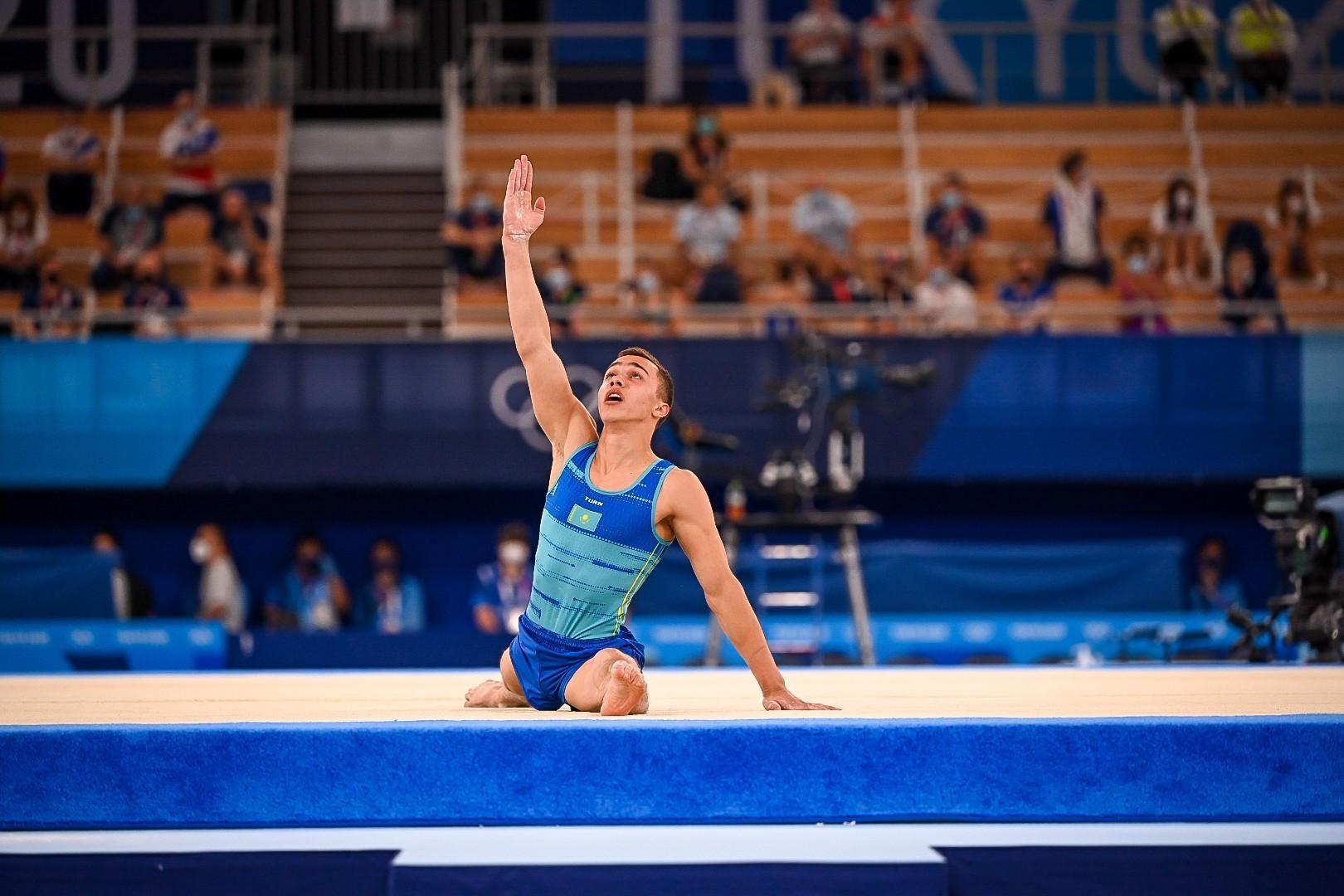 Казахстанские гимнасты мощно стартовали на чемпионате мира по спортивной гимнастике