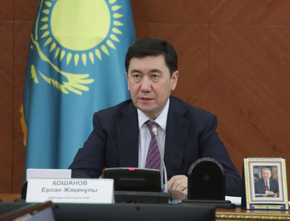 Ерлан Кошанов возглавил Администрацию Президента РК