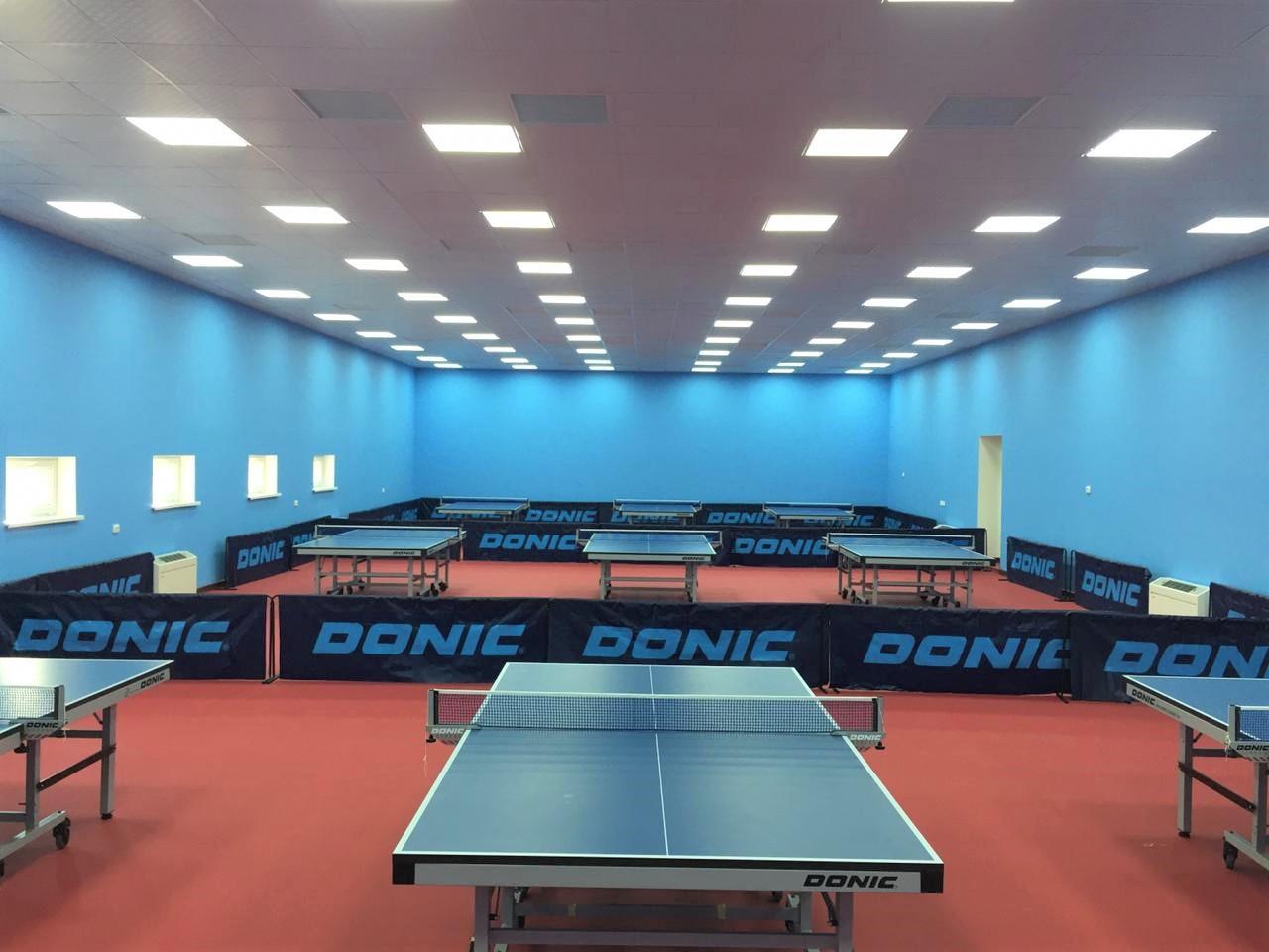 В Шымкенте открылся новый зал для настольного тенниса