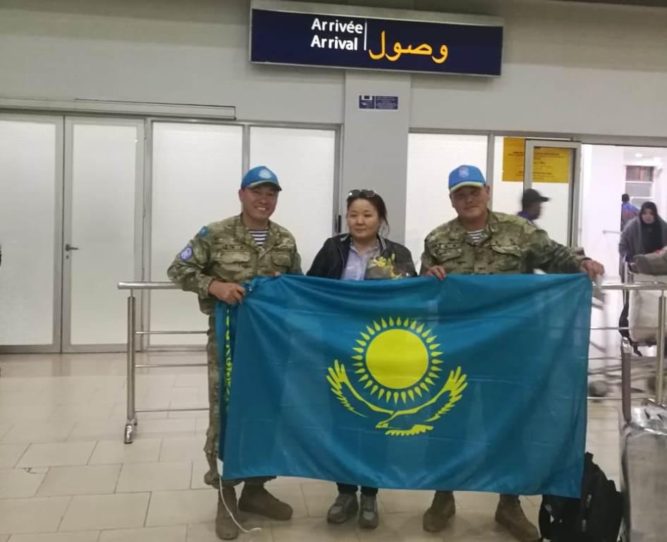 Первая казахстанская женщина-миротворец прибыла в Западную Сахару