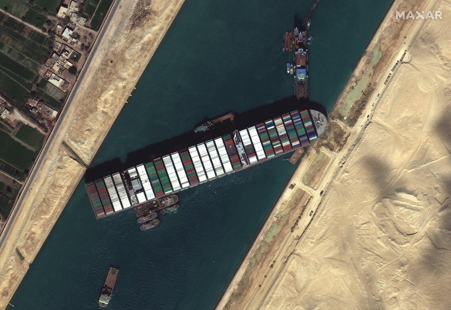 Суэцкий канал получит танкер в рамках соглашения по Ever Given