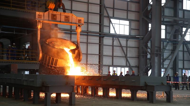 Производство ферросплавов в РК остается на прошлогоднем докризисном уровне