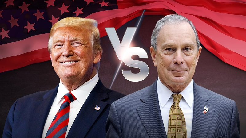 Трамп и Блумберг обругали друг друга