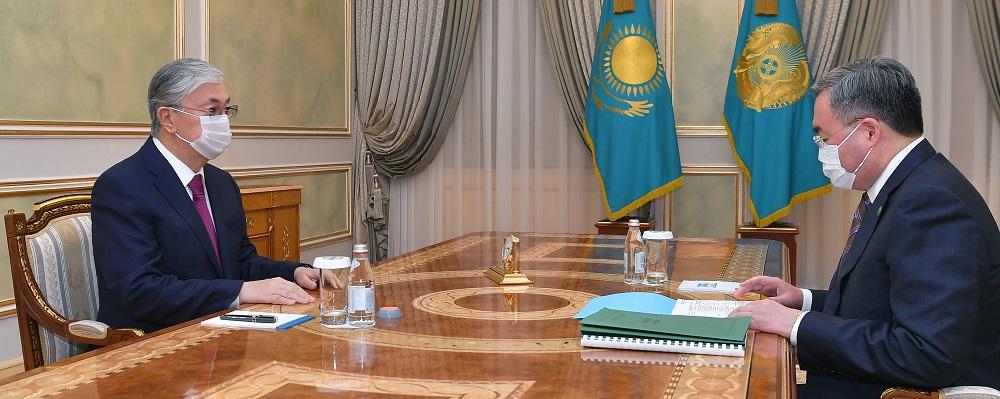 Президент Казахстана дал поручения МИД по развитию  взаимодействия со стратегическими партнерами страны