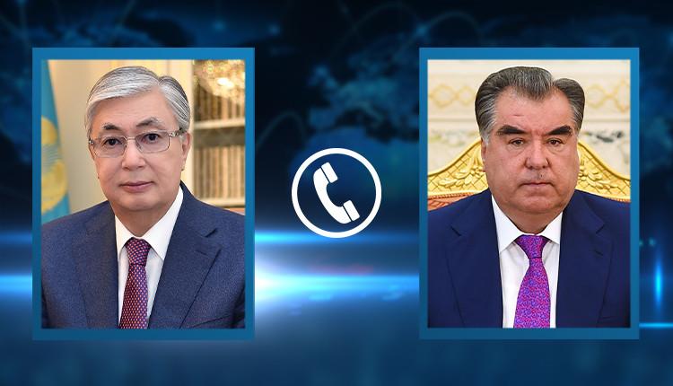 Президенты Казахстана и Таджикистана обсудили вопросы обеспечения региональной стабильности и безопасности