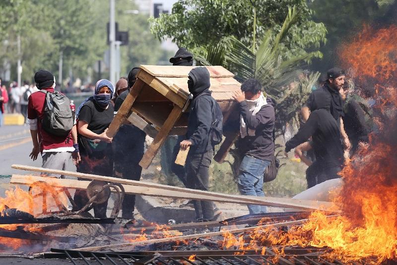 Протесты в Чили: число пострадавших превысило 1100 человек
