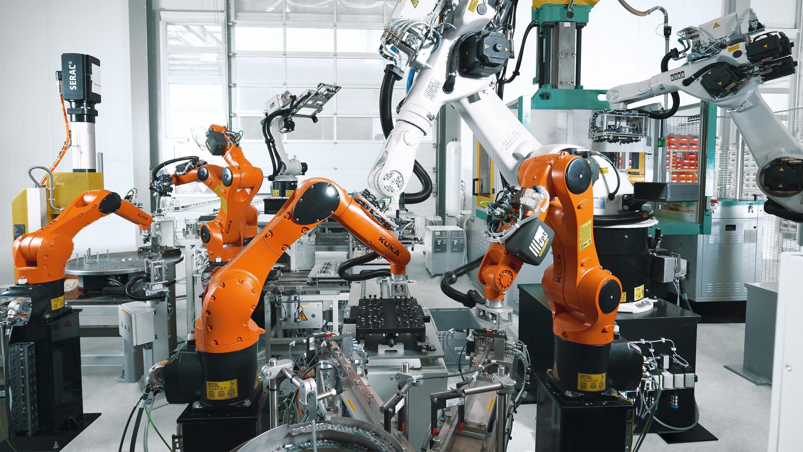 В Китае резко выросло производство промышленных роботов