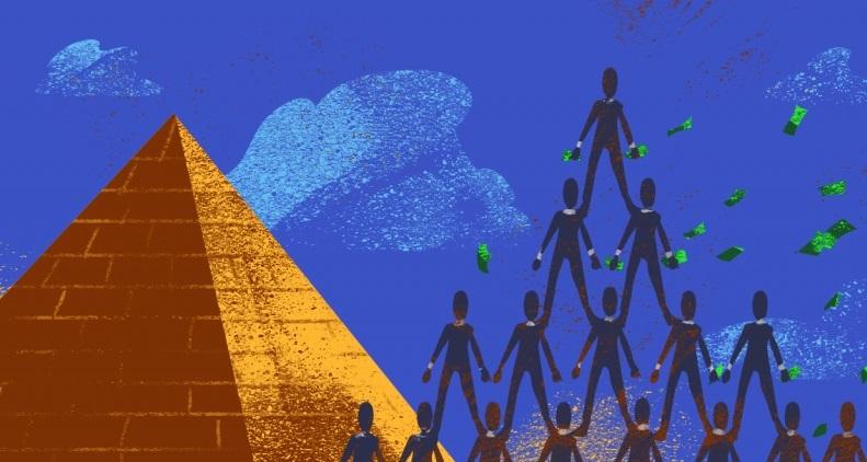 Как не попасть в финансовую пирамиду