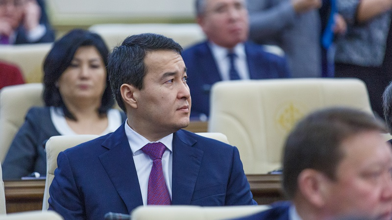 Әлихан Смайылов: Республикалық бюджеттің кірістері 10,5 пайызға төмендеді