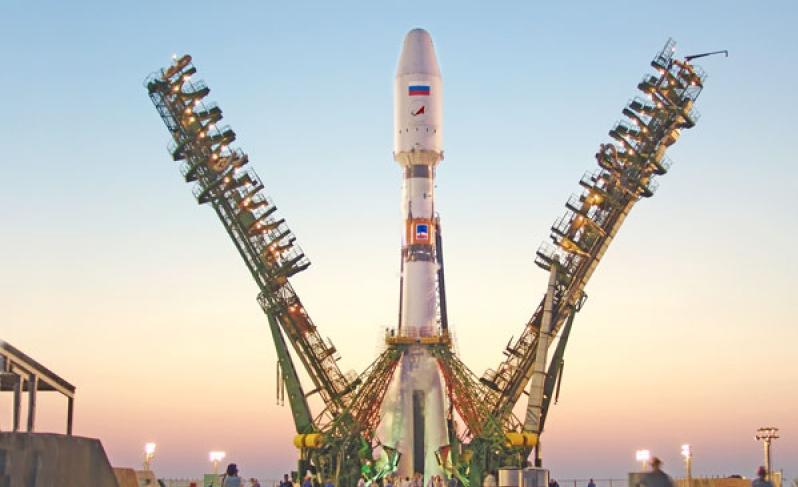 """Ракету """"Союз-2.1б"""" со спутниками OneWeb вывезут на стартовый стол Байконура 11 сентября"""