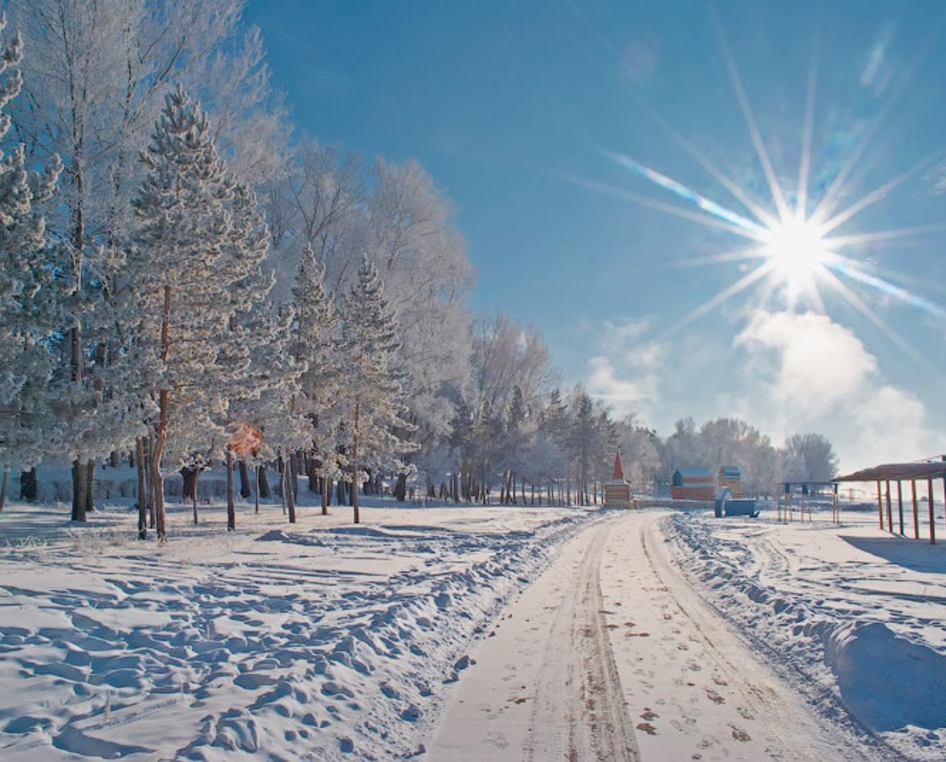 Погоду без осадков прогнозируют синоптики в Казахстане 13 января , погода, Казахстан, Казгидромет