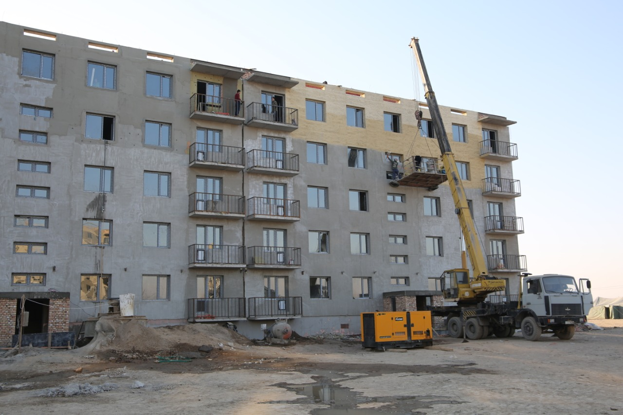 Бердибек Сапарбаев потребовал максимально увеличить темпы работ в Кордайском районе