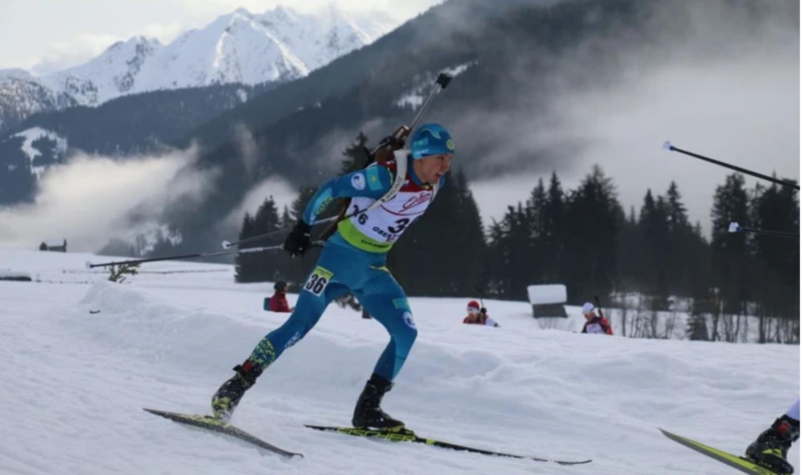 VI этап Кубка мира по биатлону: казахстанец попал в топ-30