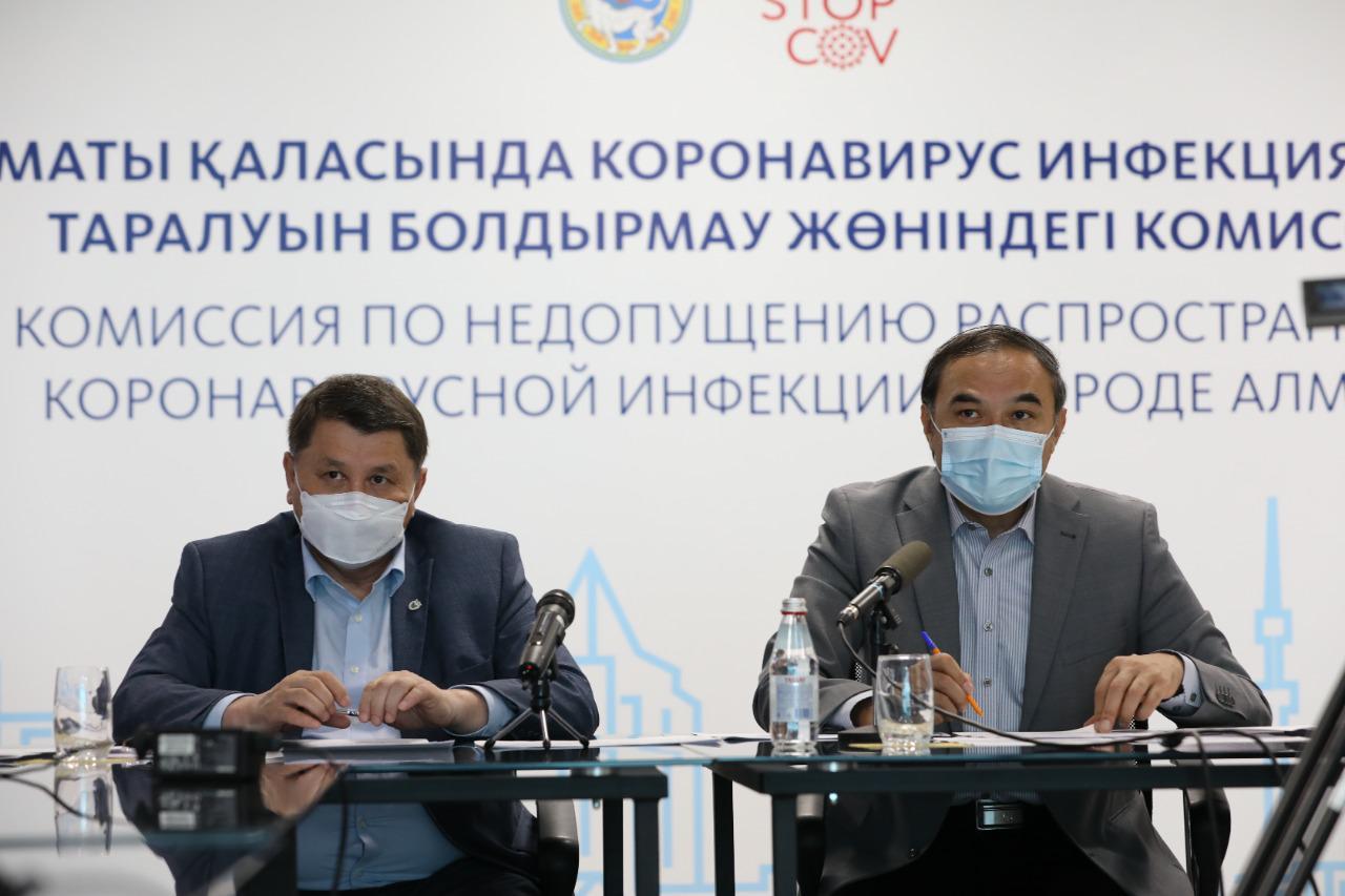 В Алматы введут дополнительные ограничительные меры на фоне четырехкратного роста заражения