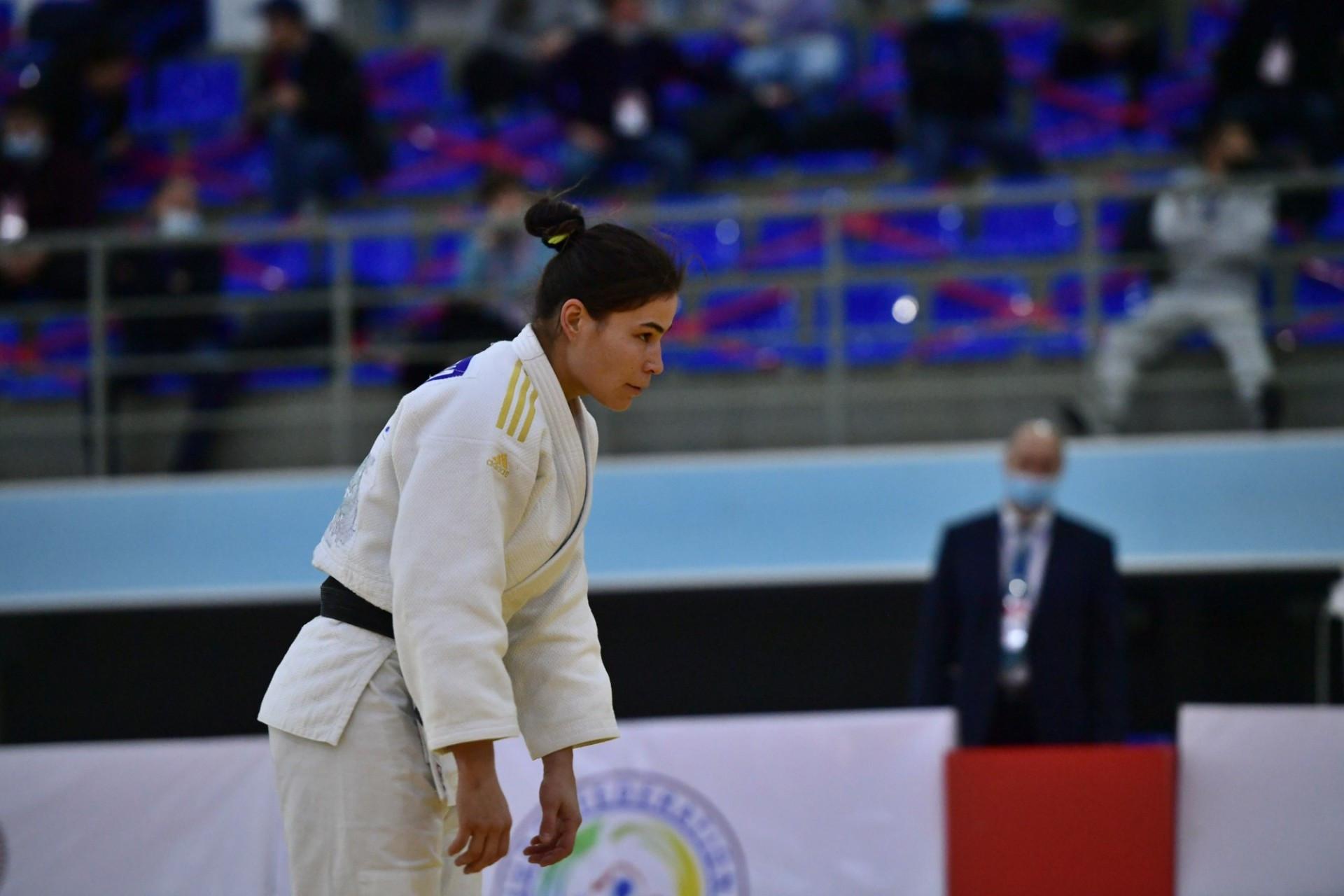 Севара Нишанбаева - трехкратная чемпионка Казахстана по дзюдо
