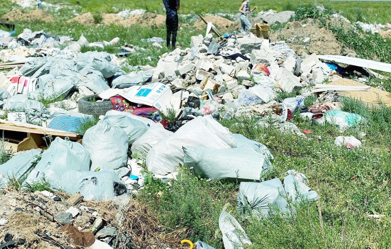 Атырау қаласы мен Махамбет ауданы жеріндегі стихиялық қалдықтар тазартылды