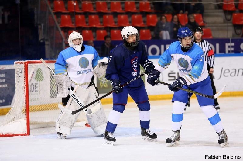 Юниорский ЧМ по хоккею: Казахстан обыграл Францию