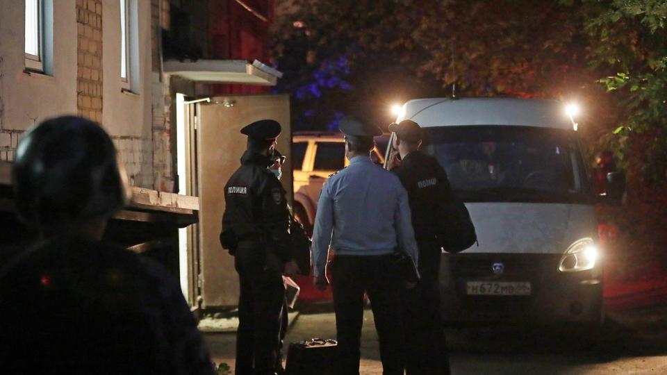 Что нашли полицейские у стрелявшего в Екатеринбурге