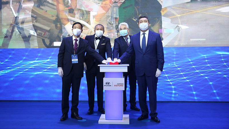 Мамин принял участие в церемонии открытия завода по сборке автомобилей Hyundai