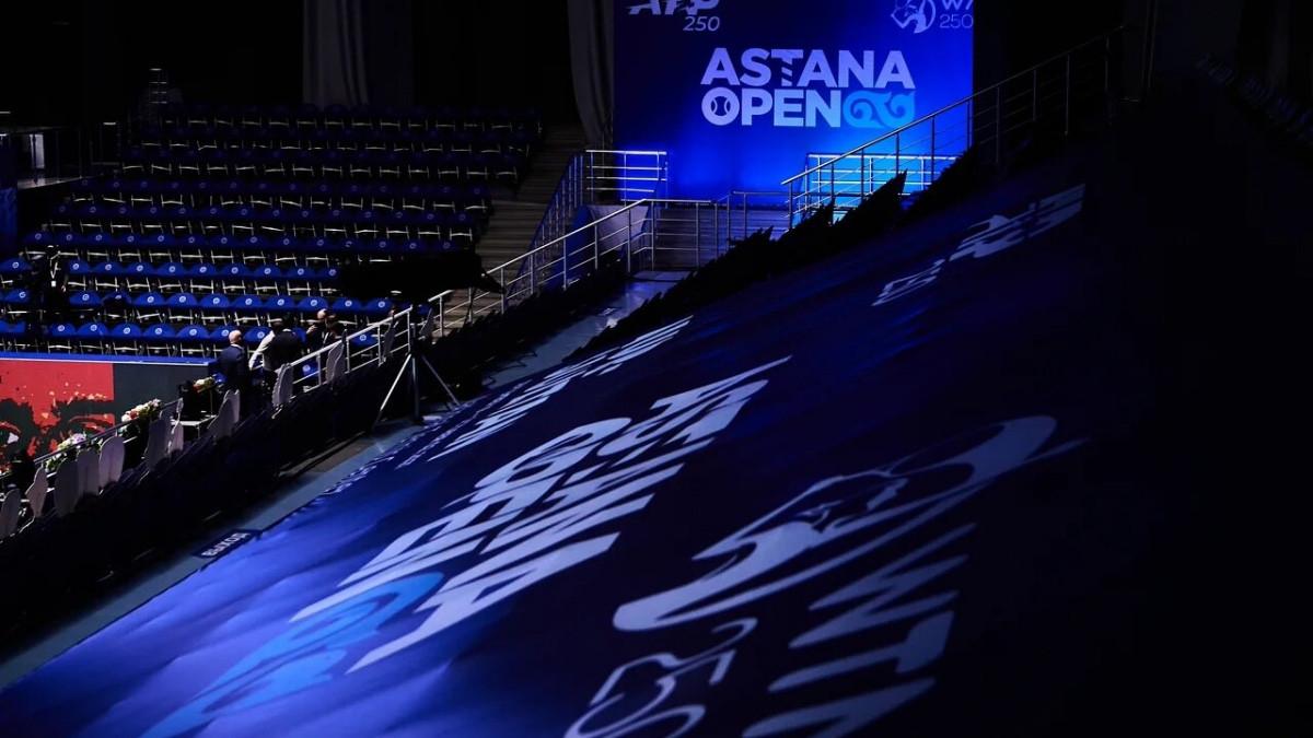 Теннисные турниры Astana Open АТР 250 и WTA 250 пройдут со зрителями