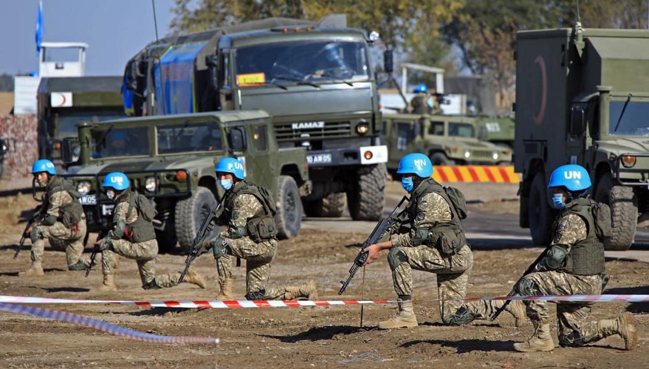 Пятая миротворческая рота Казахстана проходит подготовку для отправки в Ливан