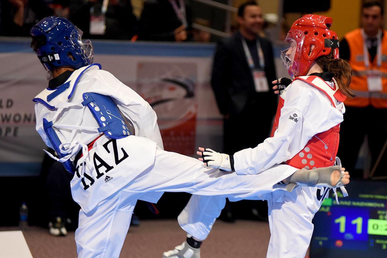 Таеквондисты РК взяли пять золотых медалей в Гамбурге