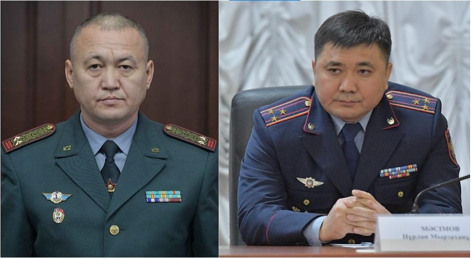 Мәсімов пен Есімов қызмет бабымен Павлодарға ауысты