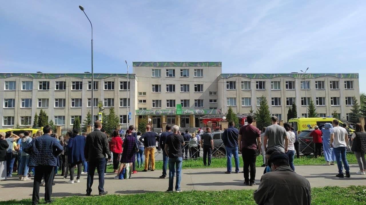 У задержанного 19-летнего стрелявшего в казанской школе пособников не было