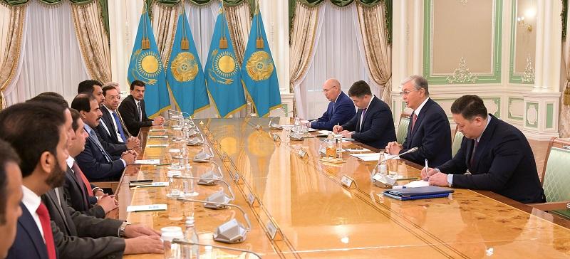 Токаев обсудил с главой Центробанка Катара финансовое и инвестиционное сотрудничество